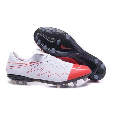 New Rooney Nike Hypervenom Phinish FG ACC White Red