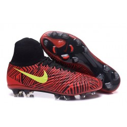 New Nike Magista Obra 2 FG Football Boot Red Black Volt