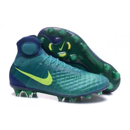 New Nike Magista Obra 2 FG Football Boot Green Jade Volt