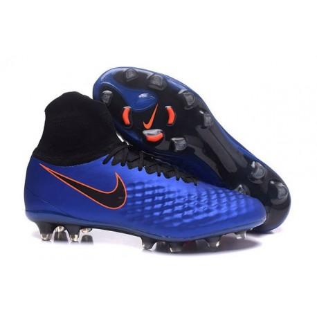 New Nike Magista Obra 2 FG Football Boot Royal Blue Black