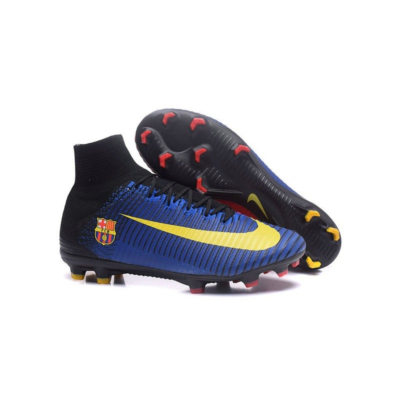 100% authentic 30ae5 04892 Nike Mercurial Superfly 5 FG Football Shoes Barcelona FC