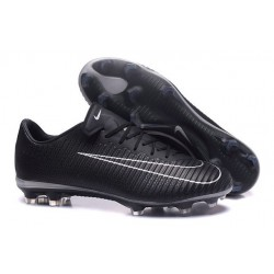 Nike Mercurial Vapor XI FG ACC New 2017 Soccer Cleats Black White