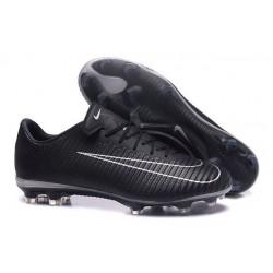 Nike Mercurial Vapor XI FG ACC New 2017 Soccer Cleats Black White