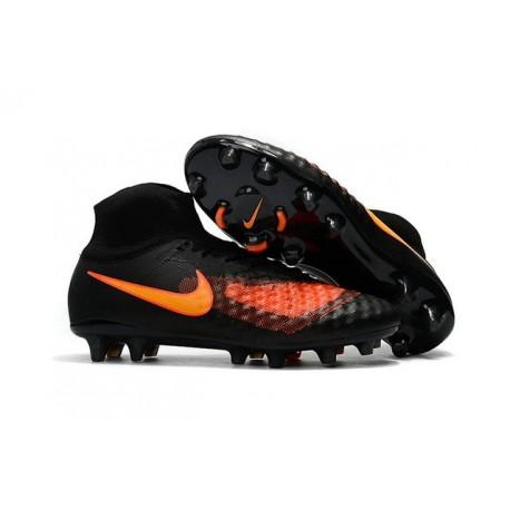 New Nike Magista Obra 2 FG Football Boot Black Orange