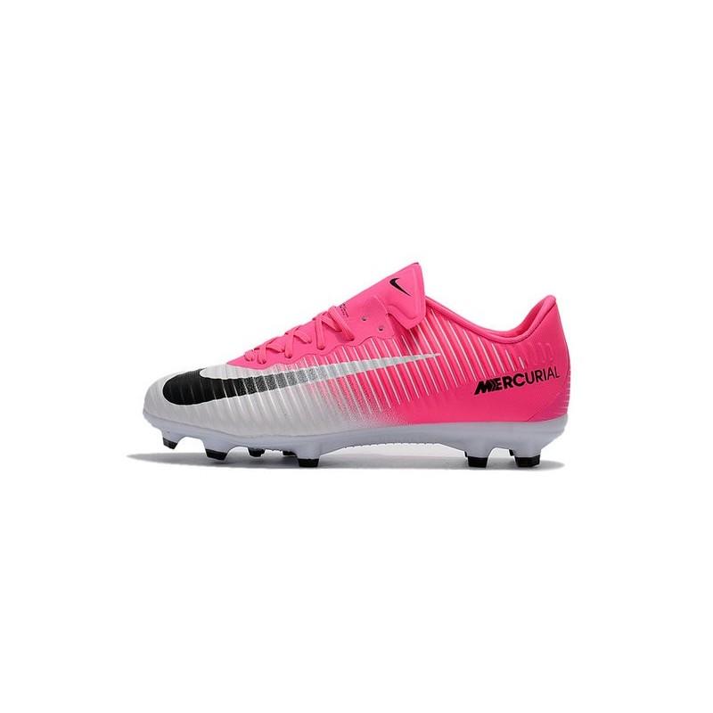 nike mercurial vapor 11 fg 2017 soccer shoes in pink white. Black Bedroom Furniture Sets. Home Design Ideas