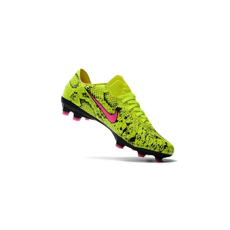 nike mercurial vapor 11 fg 2017 soccer shoes yellow pink