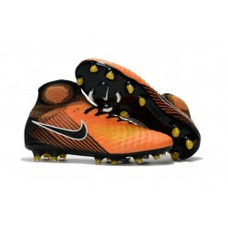 Nike Magista Obra II FG Men Soccer Cleat Orange Black