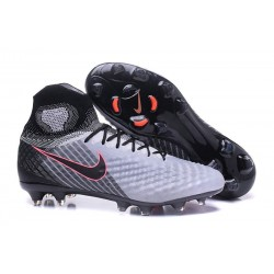 Nike Magista Obra II FG Men Soccer Cleat Grey Black