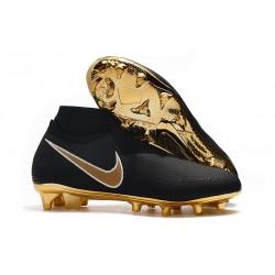 Nike Phantom Vision Elite DF FG Boots - Black Gold