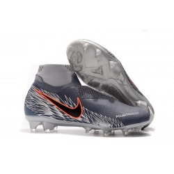 Nike Phantom Vision Elite DF FG Boots - Armory Blue Black Crimson