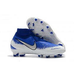 Nike Phantom Vision Elite DF FG Boots - Racer Blue White Black