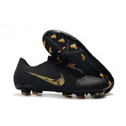 Nike Phantom Venom Elite FG Boots Black Metallic Gold