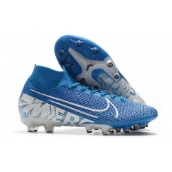 Nike Mercurial Superfly VII Elite Artificial Ground New Lights Blue White