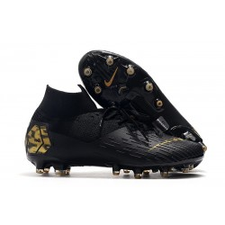 Nike Mercurial Superfly VII Elite Artificial Ground Black Gold