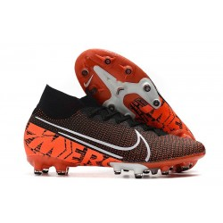 Nike Mercurial Superfly VII Elite Artificial Ground Black Orange White