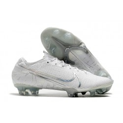 Nike Mercurial Vapor 13 Elite FG White/Chrome/Metallic Silver