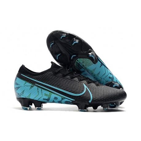 New Nike Mercurial Vapor XIII Elite FG - Black Blue