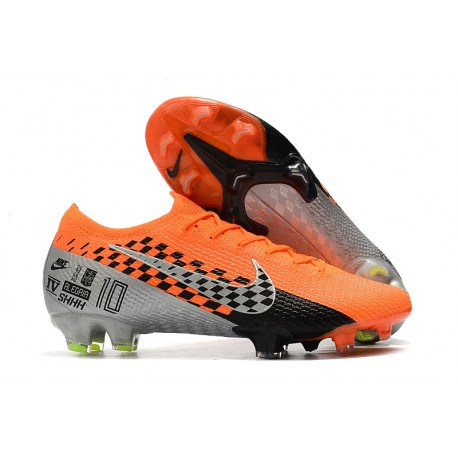 New Nike Mercurial Vapor XIII Elite FG -Orange Chrome Black