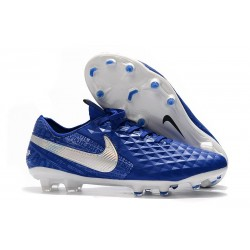 Nike Tiempo Legend 8 Elite FG Boot -Hyper Royal White
