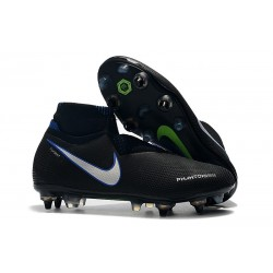 Nike Phantom Vision Elite DF SG-PRO Black Silver Blue