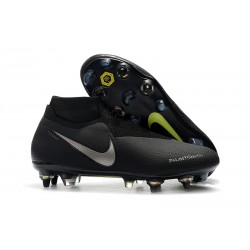 Nike Phantom Vision Elite DF SG-PRO Black Metallic Silver