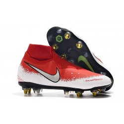 Nike Phantom Vision Elite DF SG-PRO Red White