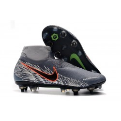 Nike Phantom Vision Elite DF SG-PRO Wolf Grey Silver Black