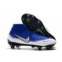 Nike Phantom Vision Elite DF SG-PRO Blue White Silver