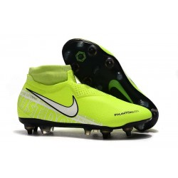 Nike Phantom VSN Elite DF SG-Pro Anti Clog Volt White
