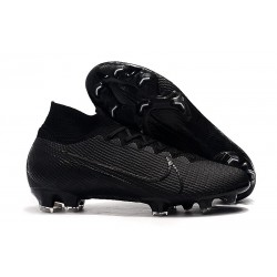 Nike Mercurial Superfly 7 Elite FG Soccer Cleats Under The Radar Black