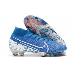 Nike Mercurial Superfly 7 Elite FG New Lights Blue White