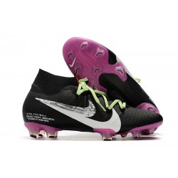 Nike News Mercurial Superfly VII Elite FG Boot - Black Purple
