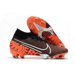 Nike News Mercurial Superfly VII Elite FG Boot -Black Hyper Crimson