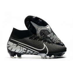 Nike News Mercurial Superfly VII Elite FG Black Metallic Cool Grey