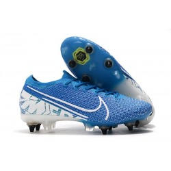 Nike Mercurial Vapor XIII Elite Anti-Clog SG-Pro New Lights Blue White