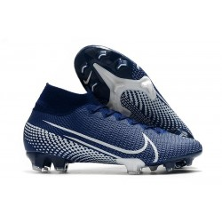 Nike News Mercurial Superfly VII Elite FG Boot - Blue White