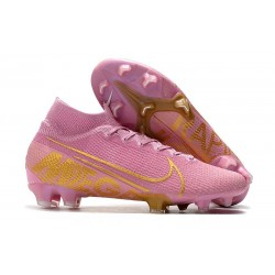 Nike News Mercurial Superfly VII Elite FG Boot - Pink Gold
