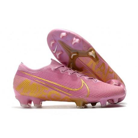 Nike Mercurial Vapor 13 Elite FG Cleat Pink Gold
