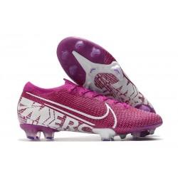 Nike Mercurial Vapor 13 Elite FG Cleat Purple White