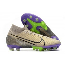 Nike Mercurial Superfly VII Elite Ag Desert Sand Black Psychic Purple