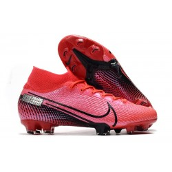 Nike News Mercurial Superfly VII Elite FG Boot -Laser Crimson Black