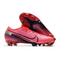 Nike Mercurial Vapor 13 Elite FG Cleat Laser Crimson Black
