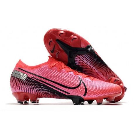 Nike Mercurial Vapor 13 Elite FG Cleat Laser Crimson Black