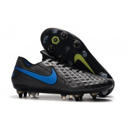 Nike Tiempo Legend 8 Elite SG-PRO Anti-Clog Black Blue