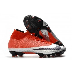Nike Mercurial Superfly 7 Elite DF FG Red Silver Black