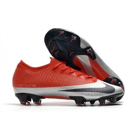 Nike Mercurial Vapor 13 Elite FG Future DNA Red Silver Black