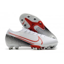 Nike Mercurial Vapor Elite XIII Artificial Grass White Laser Crimson