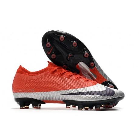 Nike Mercurial Vapor Elite XIII Artificial Grass Red Silver