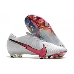 Mens Nike Mercurial Vapor XIII Elite FG White Flash Crimson