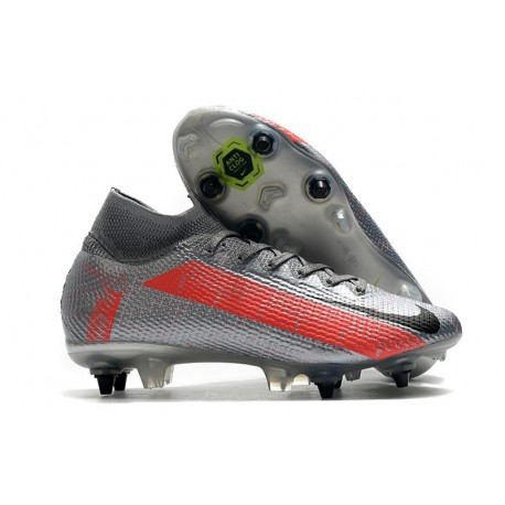 New Nike Mercurial Superfly VII Elite SG-PRO Bomber Grey Black